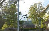 Station solaire éolienne alimenté GSM