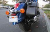 Afficher une moto permis de stationnement sans troubler votre peinture !