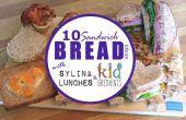 """10 façons d'utiliser """"sandwich"""" pain pour le déjeuner"""