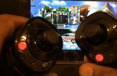 Wireless clé USB Wii Nunchuk-à-souris pour PC, Mac et la tablette de jeux vidéo