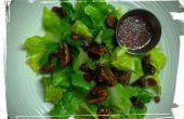 Garniture de salade : Confit, noix de pécan