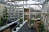 L'hydroponique automatisé, Networking, projet de serre sous contrôle climatique : Construction