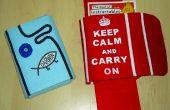 Faire un sac de protection pour les livres