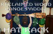 Régénérés étagère à chapeaux pagaie canoë bois