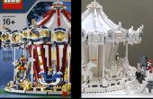 Vintage Lego 10196 de couleurs au blanc