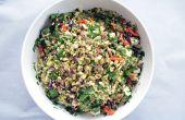 Heureux herbacée sans Gluten des céréales salade