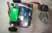 Sans fil Robo-voiture en utilisant le moteur servo 360 °