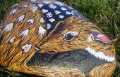 Peint des cerfs Rock