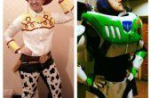 Buzz Lightyear et Jessie la cow-girl