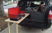 Toyota 4Runner Camper Sleeper Conversion avec table