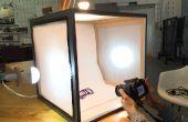 Tente de photographie boite à lumière