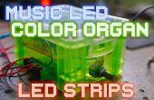 Bandes de LED orgue musique LED/couleur sans microcontrôleurs