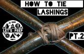 Compétences rapides #5: Comment attacher des saisines - Pt.2 diagonale Lashing