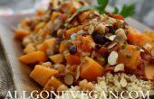Recette couscous pour les végétaliens avec sol cannelle