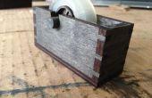 En bois Laser cut dévidoir de ruban