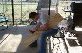 Construction d'un bateau--juste pour le plaisir