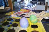 Comment faire pour avoir écrit sur un œuf teint