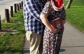 Adam et Barbara Maitland de Beetlejuice deguisement