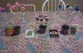 Arrangements de fleurs comestibles