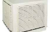 Boîte de ventilateur refroidisseur évaporatif