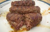 Fromage & Bacon farcies BBQ Burger chiens