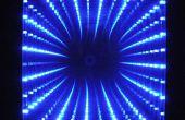10 « x 10 » LED miroir infini