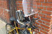 Comment attacher un Bobike Mini pare-brise au guidon d'un vélo de montagne