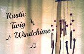 Brindille bricolage Windchime