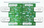 PIÉZO-ÉLECTRIQUE motorisé digicode combinatoire à l'aide de NXP AXP LOGIC GATES