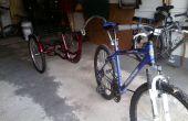 Converti en tricycle adulte 3 roues pour remorque de vélo pour pas cher !