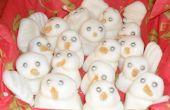 Menthe poivrée bonhommes de neige