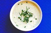 Crémeux de pommes de terre et poireaux soupe