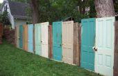 Ajouter le talent dans votre jardin avec des matériaux recyclés