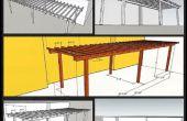 Comment construire une Pergola Simple arrière-cour
