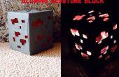 Bloc de Redstone Glowing Minecraft