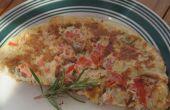 Omelette d'oignon tomate incroyable