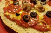 Facile pain Focaccia Pizzas personnelles