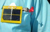 Simple solaire actionné sous-marin de poche avec contrôle de la profondeur.