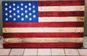 Palette de drapeau américain