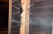 Simple antenne TV de TNT HD - près de zéro coût - ferraille principalement de matériaux