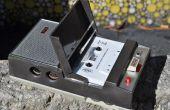Renouant avec un enregistreur de cassette philips norelco depuis les années 1960,