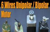 Stepper Motor Basics - 6 Câbles unipolaires / bipolaires moteur