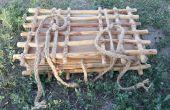 En bois usine Appuyez sur