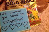 Bonbons cadeau avec un jeu de mots « Sweet » ! : D