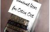 Utilise inhabituelle pour l'huile d'Olive