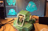 Exécutant l'imprimante 3D de Pier 9 Zcorp 450