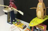 Jeu de course des automates papercraft littleBits Circuit
