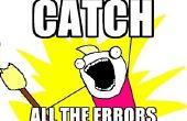 Conseils sur la façon de trouver des erreurs dans le code (porté sur le DOS)