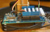 Intel Edison en tant que serveur de I/O à grande vitesse : e/s analogiques et numériques transmises par connexion WiFi pour PC client