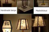 Comment fabriquer des lampes de nuit à la main.